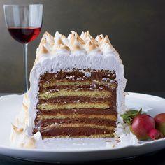 Un vin rouge pour accompagner un beau gâteau, et pourquoi pas ?