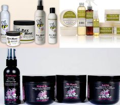 3 natural Hair Care lines we love