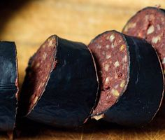 Find the recipe for Black Pudding and other pork recipes at Epicurious.com