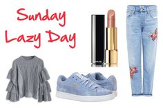 """""""New"""" by milena-lister-quevedo on Polyvore featuring moda, Citizens of Humanity, Chicwish, Puma y Chanel"""