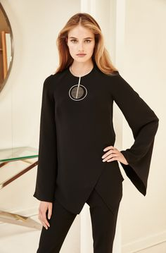The modern tunic: cutting-edge sophistication reimagined in a clean silhouette