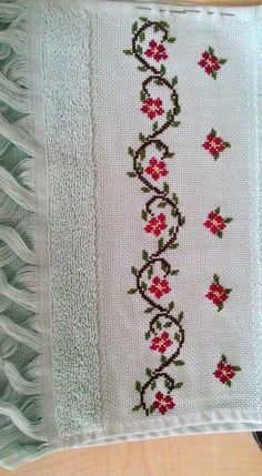 The most beautiful cross-stitch pattern - Knitting, Crochet Love Cross Stitch Letters, Cross Stitch Bookmarks, Cross Stitch Borders, Cross Stitch Rose, Cross Stitch Samplers, Modern Cross Stitch, Cross Stitch Flowers, Cross Stitch Charts, Cross Stitch Designs