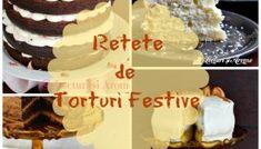 Retete de torturi festive pentru orice ocazie Top 15, Orice, Vanilla Cake, Cereal, Cookies, Breakfast, Desserts, Food, Ferrero Rocher