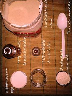 CREMA HIDRATANTE, EXFOLIANTE, CASERA Y ORGANICA: Que tan cool esta crema de aceite de oliva, aceite de almendra, barro y avena.