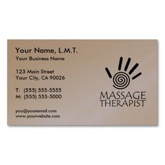 330 best massage business card templates images on pinterest massage therapy business cards wajeb Image collections