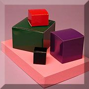 High Gloss Colored Gift Boxes-100 per case for $17.00