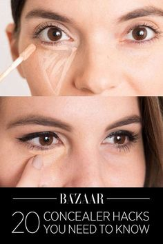 Life-changing ways to cover under-eye circles, blemishes, and more.