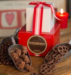 Valentine's Day Chocolate Gift Tower