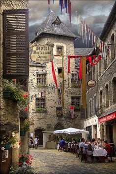 Not too far from where we lived...    Estaing, Midi-Pyrenees, France  (by Yvon Lacaille)