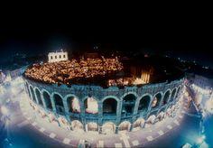 The Opera Festival in Verona, Italy