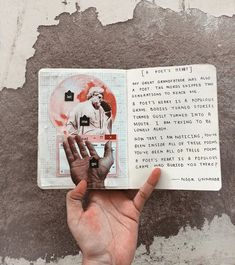 [A Poet's Heart] poetry and journaling by Noor Unnahar | words quotes notebook tumblr indie pale collage aesthetic