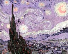 Download premium image of The Starry Night vintage illustration, remix from original painting by Vincent Van Gogh. by Techi about aesthetic, van gogh, starry night, starry night van gogh, and rain 2266713