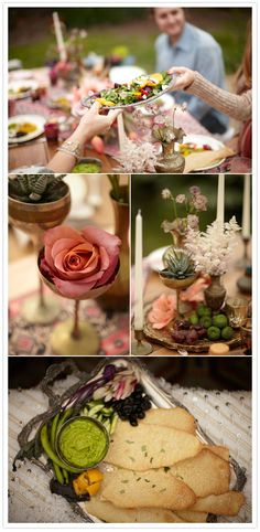 A Bohemian Summer Party + Shop | Cocktail + Dinner Parties, Flowers + Greenery, Pop-Up Shop | 100 Layer Cake