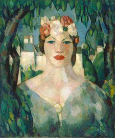 John Duncan Fergusson (1874–1961) - Spring, Botanic Gardens
