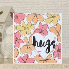 Hugs by Lucy Abrams! I'm really into this offset inking trend. Anyone else?