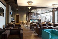 The fantastic Platinum Lounge at Hungary Budapest - Liszt Ferenc International