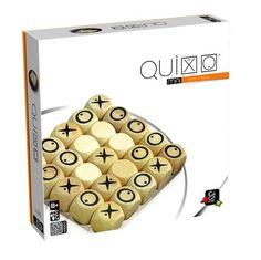 Gigamic - Quixo - Travel size easy to carry, Modern classic abstract strategy game, 2 or 4 players, in wood Mini Games, Games To Play, Best Brain Teasers, Wooden Board Games, Game Boards, Tangram, Puzzle Toys, Puzzle Games, Geek Crafts