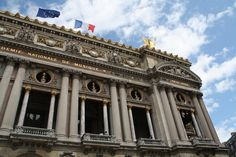 """Amongst the many attractions of the French capital city of Paris is its opera house, known as the Palais Garnier. Described as """"probably the most famous opera house in the world,"""" it has been the. Capital City, Opera House, Louvre, Paris, Architecture, World, Building, Pictures, Travel"""