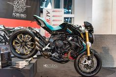 "MV Agusta Dragster RR 800 , the ""Turchese"""