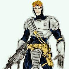 Teniente Torie Montroc Alien Legión - Modificación PicsArt