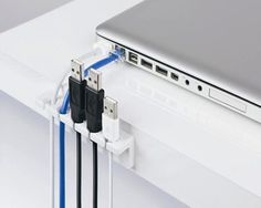 Cable Strip Desk Cable Organizer                                                                             $9  The Gadget Flow