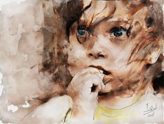 https://flic.kr/p/QkQK1W | Little girl | Mixed media - Giclée - Paper - 56x42 cm By: Zsignond István - Hungary - 2015