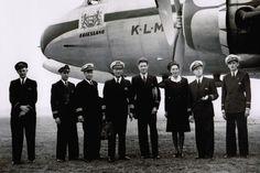 """O DC-4 """"Friesland"""" foi o primeiro avião da KLM que pousou no Brasil e, em seguida, na Argentina (KLM)"""