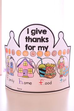 Adorable thematic crowns that reviews thematic vocabulary, reading, writing and math skills.