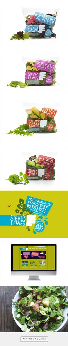 Steve's Leaves « big fish® – #branding #design #packaging