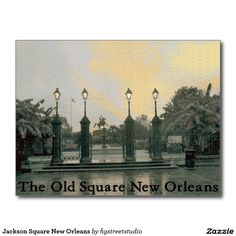 Jackson Square New Orleans Postcard