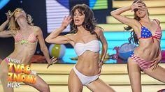 "Markéta Procházková jako Sabrina - ""Boys"" | Tvoje tvář má známý hlas Bikinis, Swimwear, Fashion, Bathing Suits, Moda, Swimsuits, Fashion Styles, Bikini, Bikini Tops"