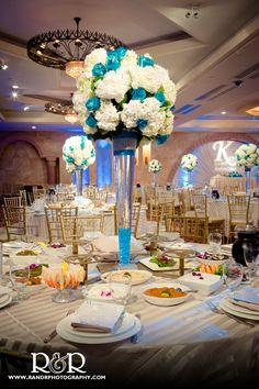 If I ever get married, I want a white and blue theme (: