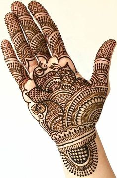 Pick a design and leave it on our Mehendi Expert. Henna Hand Designs, Mehndi Designs Finger, Peacock Mehndi Designs, Latest Bridal Mehndi Designs, Full Hand Mehndi Designs, Mehndi Designs For Beginners, Mehndi Designs For Girls, Mehndi Design Photos, Wedding Mehndi Designs