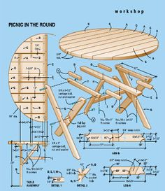 ... Picnic time on Pinterest | Picnic Tables, Diy Picnic Table and Picnics