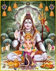 Shiva Art, Krishna Art, Hindu Art, Lord Shiva Hd Images, Ganesh Images, Ganesha Pictures, Lord Vishnu, Lord Ganesha, Kali Mata