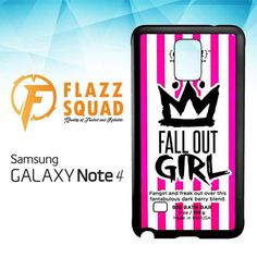 Fall Out Girl Chunk W4292 Samsung Galaxy Note 4 Case
