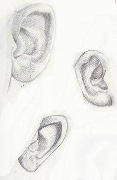 Ear references Artwork by Khantinka