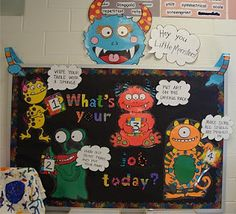What's Your Job in the Art Room Today? Great poster idea to get the kids excited about doing their job in art class.