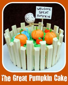Every Day Should Pop!: The Great Pumpkin - Halloween Cake Pops with Kit Kat Bars!!!