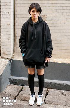 박가희 > Street Fashion   힙합퍼