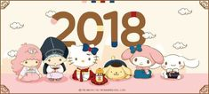 Sanrio / Happy New Year Little Twin Stars, Little My, Sanrio Characters, Disney Characters, Fictional Characters, My Melody Sanrio, Hello Kitty Photos, Sanrio Danshi, Sanrio Wallpaper