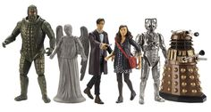 The new Doctor Who action figures from series 7