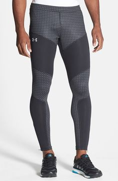 Under Armour 'Storm Anchor' Wind & Water Resistant Compression Fit Running Leggings | Nordstrom