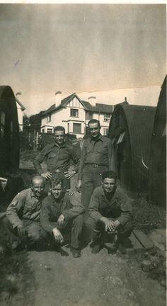 The American 28th Infantry Regiment, 8th Infantry Division photographed at Camp Breandrum, Celtic Park, Enniskillen 1944.