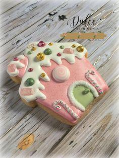 Christmas Cookie Exchange, Christmas Sugar Cookies, Christmas Cupcakes, Christmas Gingerbread, Holiday Cookies, Christmas Treats, Christmas Baking, Kawaii Cookies, Fancy Cookies
