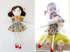 doll felt tutorial - REALLY EASY AND GREAT INSTRUCTIONS