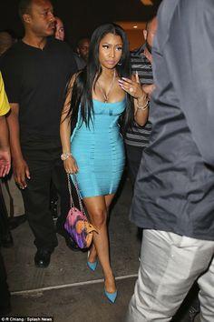 Nicki Minaj flaunts engagement bling, Nicki Minaj was seen hand in hand with her boo, Nicki Minaj would eventually get to be asked for a walk