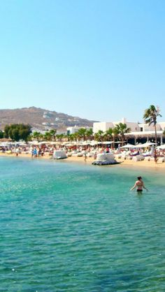 #Ornos #Beach,#Mykonos.