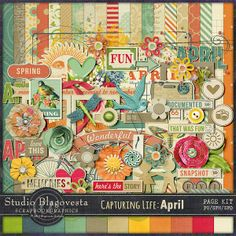 Scrapbooking Saturday 017 - Digi Scrap Designers I Love
