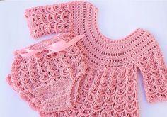 Crochet Skirt and Diaper Panties
